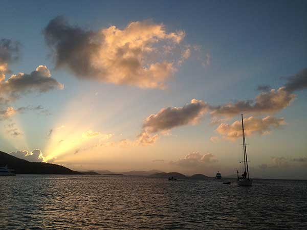 Sunset, Virgin Islands
